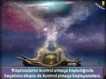 Düşüncelerinin akışını kontrol