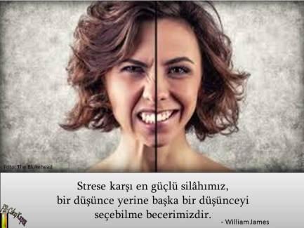 Strese karşı en güçlü silâhımız,